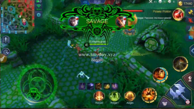 Download Script Venom Mobile Legends| MOD Map, Analog, Wallpaper, Battle Effect