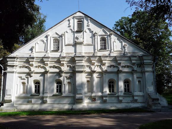 Чернігів. Дитинець. Колишня полкова канцелярія. Колишній будинок полковника Я. К. Лизогуба. 1690 р.