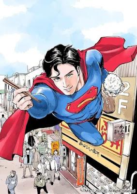 Superman protagoniza un manga gourmet.