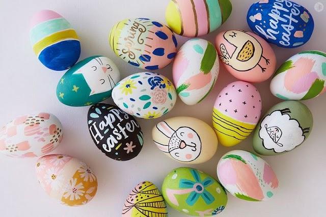 15 Τρόποι για να βάψετε-διακοσμήσετε τα Πασχαλινά Αυγά