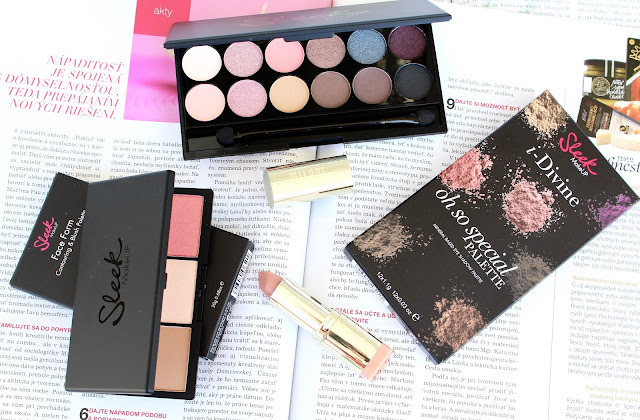 Make- up so sleek palette