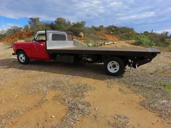 International Flatbed Truck