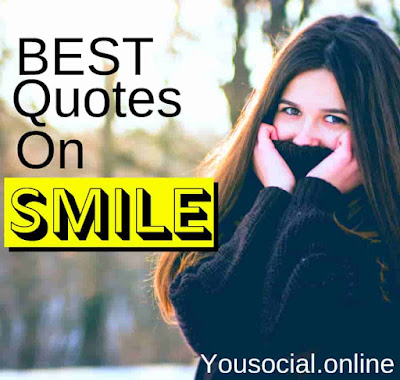 Best 30 Quotes On Smile In Hindi 2019