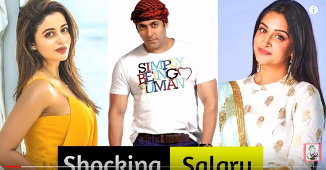 Shocking Salary Of BIGG BOSS 12 Contestants and Host Salman Khan- Big Boss 2018
