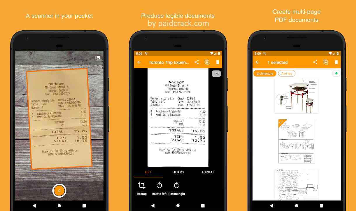 Genius Scan Plus - PDF Scanner Mod Apk 6.0.4 [Paid]