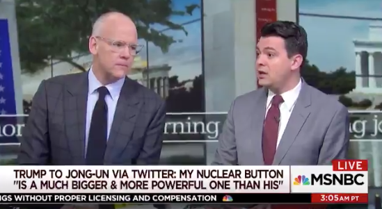 'Morning Joe': Trump's Nuclear Button Tweet Suggests President Is 'Demented and Deranged'