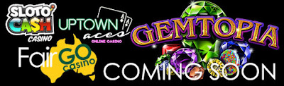 Gemtopia Slots Goes LIVE On Monday At Realtime Gaming Casino