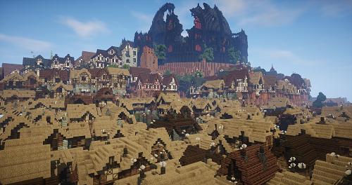 Thành Westeros huyền thoại được tái hiện vô cùng chi tiết, với khoảng cách 2000 công trình rộng bé khác biệt