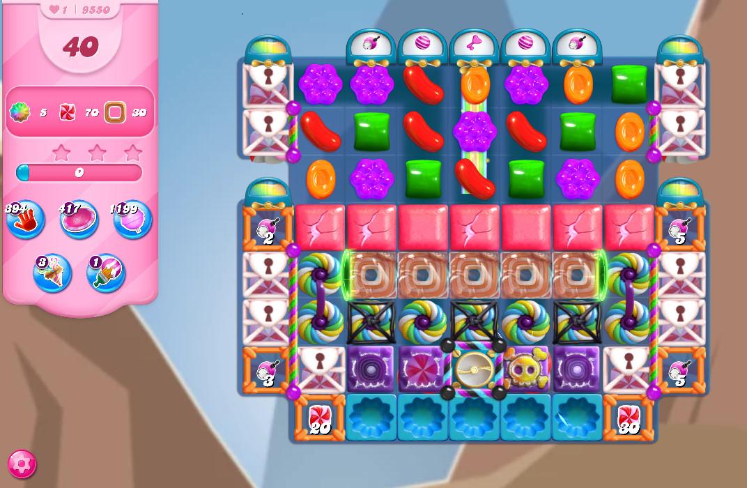 Candy Crush Saga level 9550