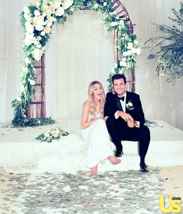 Lauren Conrad ties knot with her long term boyfriend William Tell