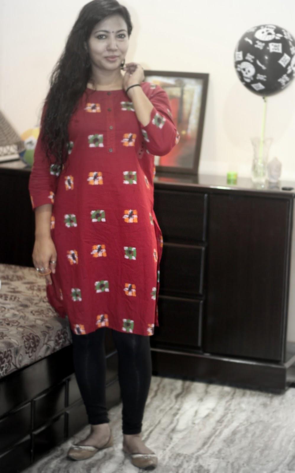 95778541da MAX Fashions IKAT Print Kurti #IndianWears #IkatKurti - Shopping ...