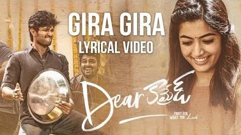 Gira Gira Gira Song Lyrics from Dear Comrade