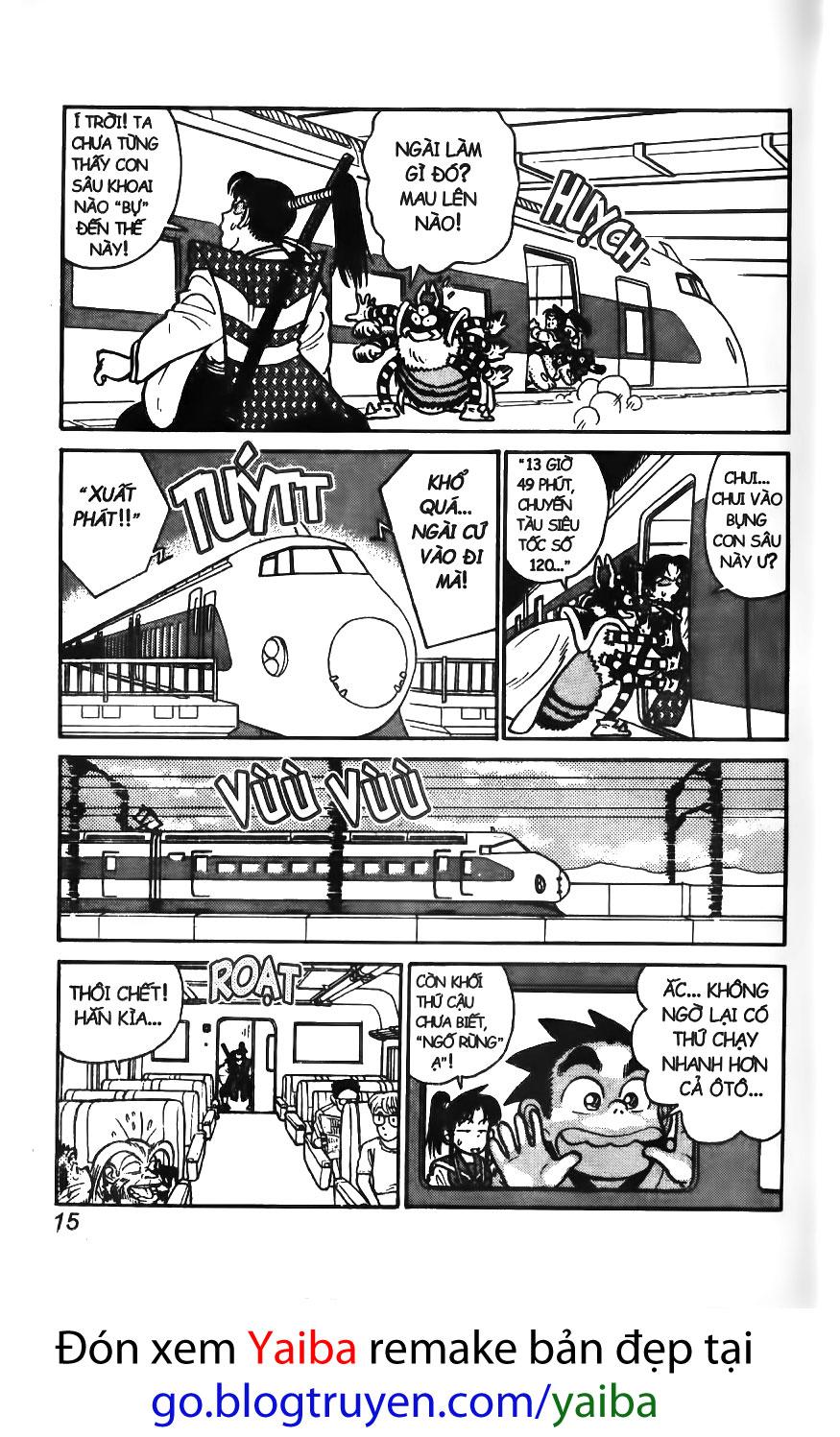 Yaiba chap 40 trang 14