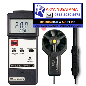 Jual Lutron Anemometer Lutron AM-4205A Humidity di Bogor