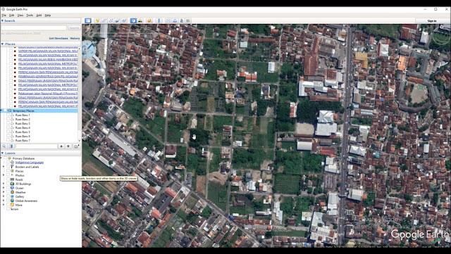 Digitasi Jalan di Google Earth dan Konversi KML ke SHP di ArcGIS  [TUTORIAL]