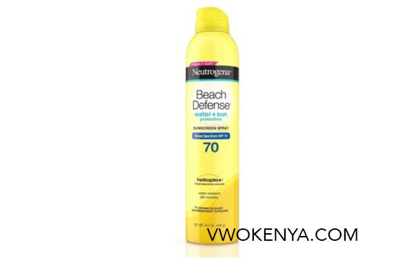 Xịt chống nắng Neutrogena Beach Defense Water + Sun Protection SPF 70