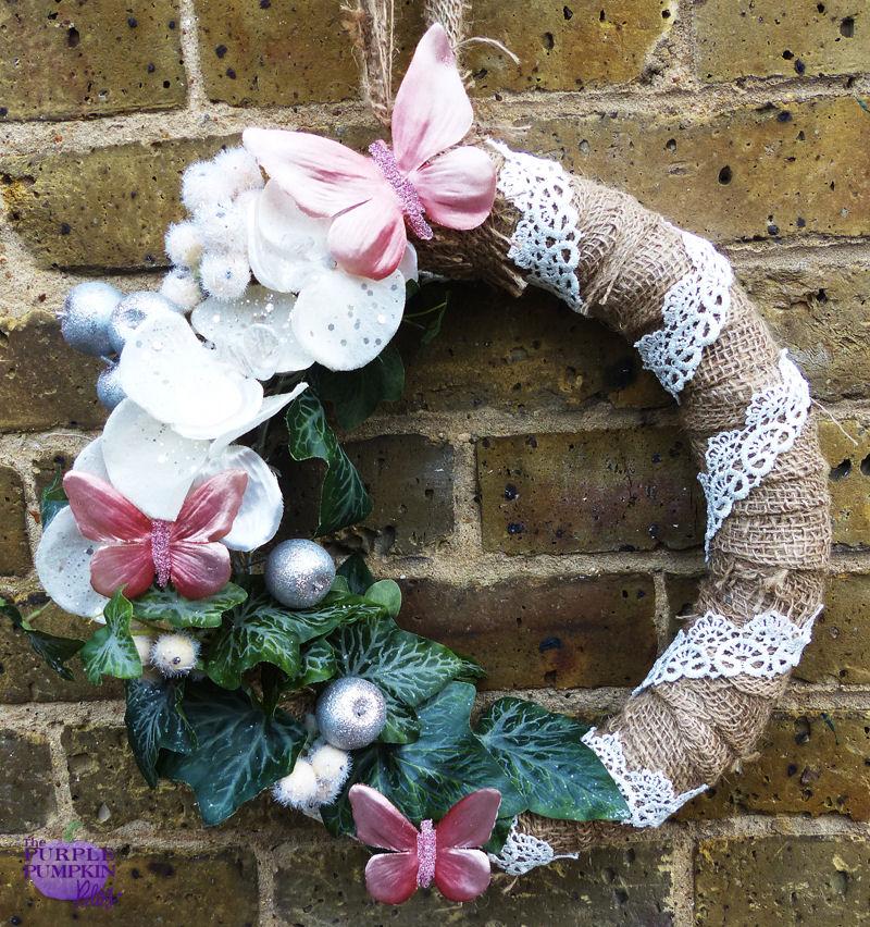 #Vintage #Christmas #Wreath   The Purple Pumpkin Blog