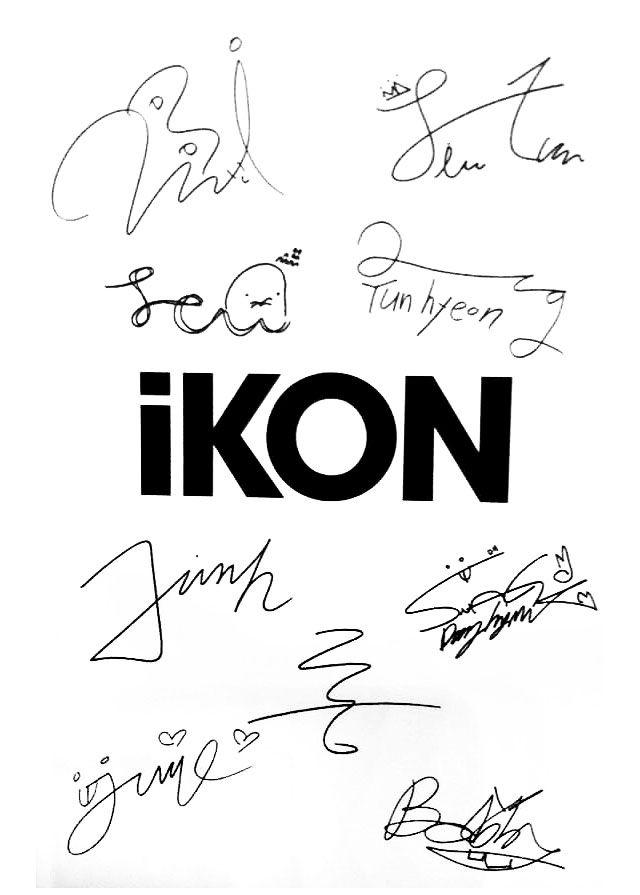 iKON logo font | ☼ kpopfonts.com
