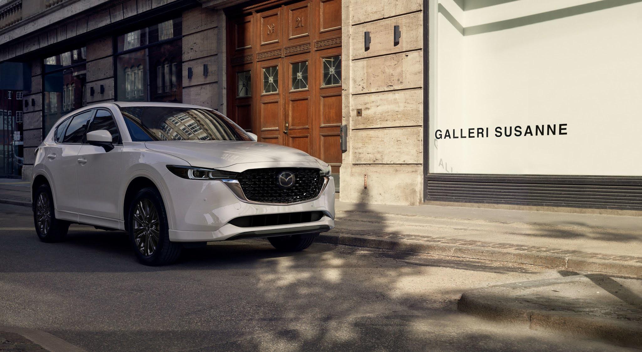 2022 Mazda CX-5 Receives Elegant Enhancements