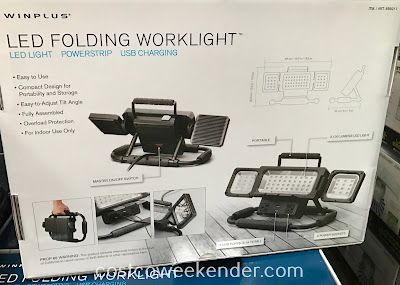 Costco 689211 - Winplus LED Folding Worklight: super Bright LEDs and Cool To The Touch
