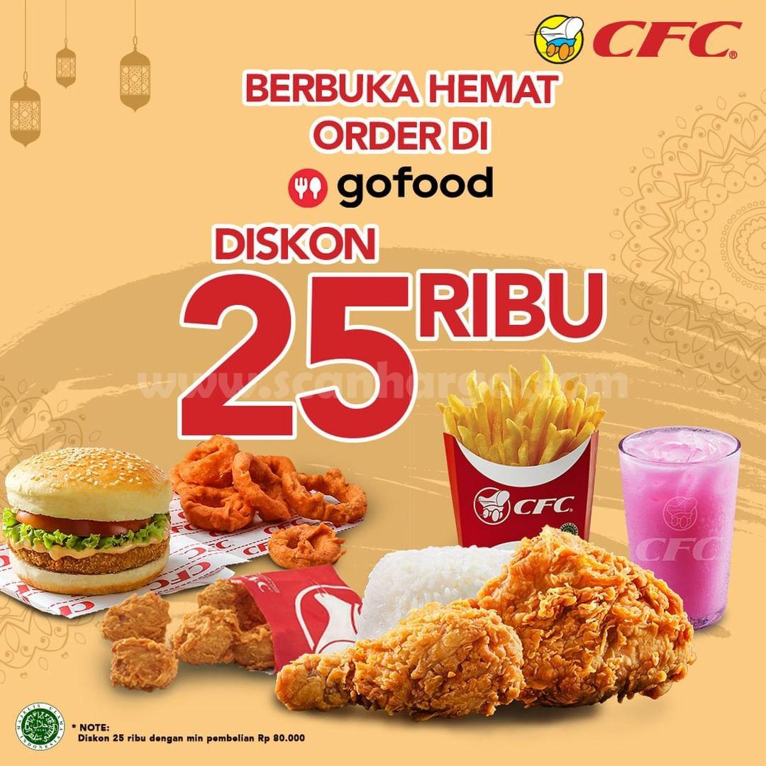 CFC Promo DISKON Rp 50RIBU Khusus pemesanan via GOFOOD