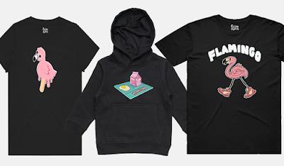 Flamingo Flim Flam T Shirt