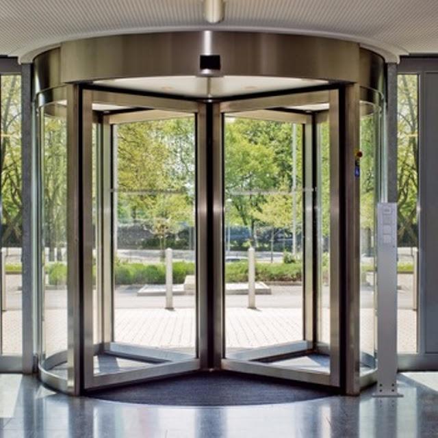 model pintu putar