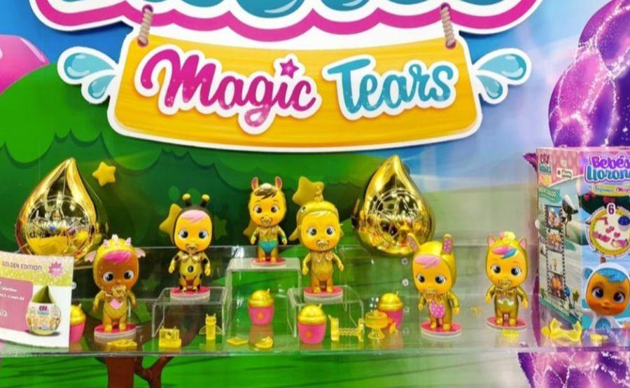 Золотистые пупсы Golden Cry Babies новинки игрушек 2020