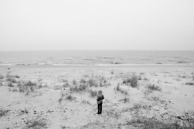 Fotografia krajobrazu. Jantar. Plaża. fot. Łukasz Cyrus