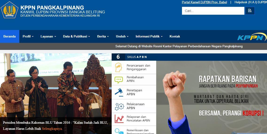 Alamat Lengkap Dan Nomor Telepon Kantor KPPN Di Bangka Belitung