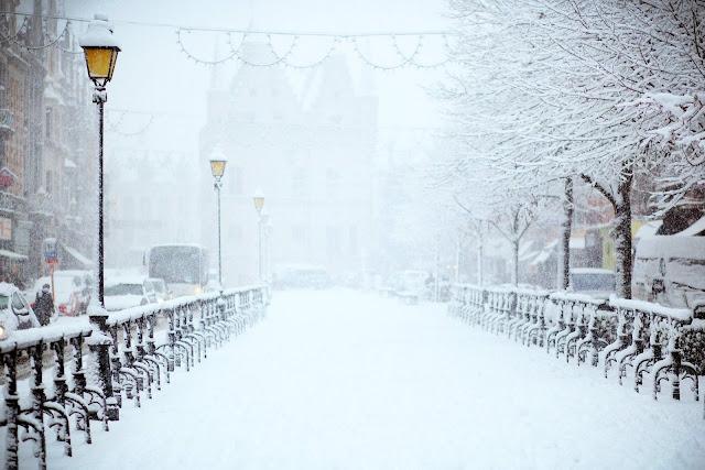 Road Covered by Snow | Filip Bunkens via Unsplash