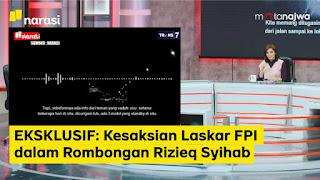 EKSKLUSIF: Kesaksian Laskar FPI Pengawal HRS Yang Selamat di Mata Najwa