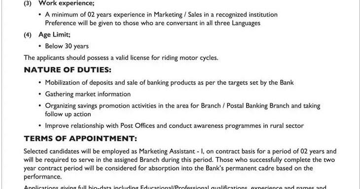 marketing assistant duties