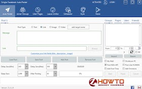Simple Facebook Auto Poster 25.3.1.9 Cracked