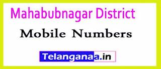 Mahbubnagar Mandal Sarpanch Upa-Sarpanch Mobile Numbers List Mahabubnagar District in Telangana State