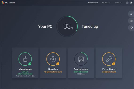 AVG PC TuneUp Utilities