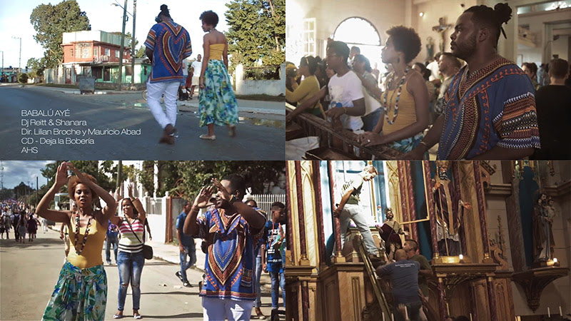 Dj Reitt y Shanara - ¨Babalú Ayé¨ - Videoclip - Dirección: Lilián Broche - Mauricio Abad. Portal del Vídeo Clip Cubano