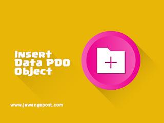 Tutorial Web Lanjutan-CRUD Insert PDO OOP