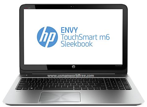 HP ENVY Touch Smart m6-K022dx Sleek Book Energy Stat For ...