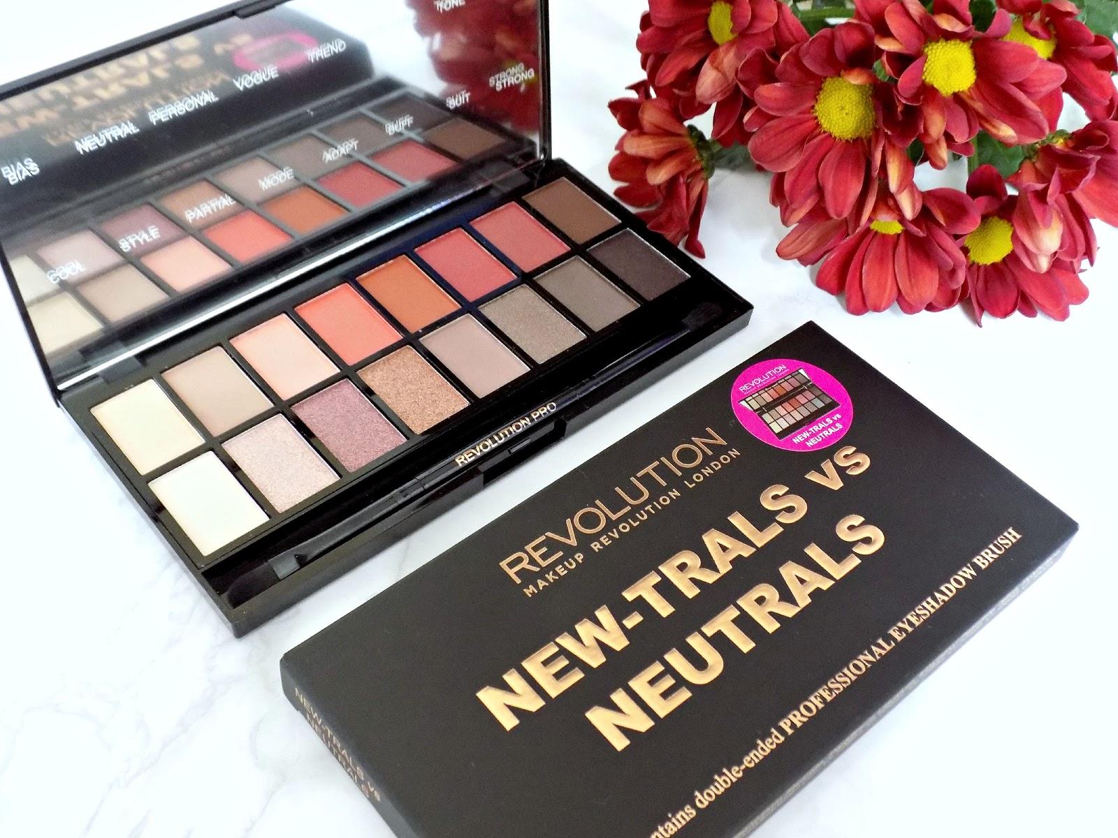 Makeup Revolution New Trals Vs Neutrals Palette Review