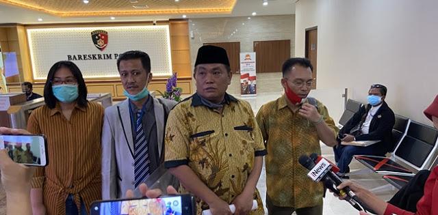 Arief Poyuono dan Iwan Sumule Resmi Laporkan Kuasa Hukum Djoko Tjandra dan Kepala PN Jaksel ke Bareskrim Polri
