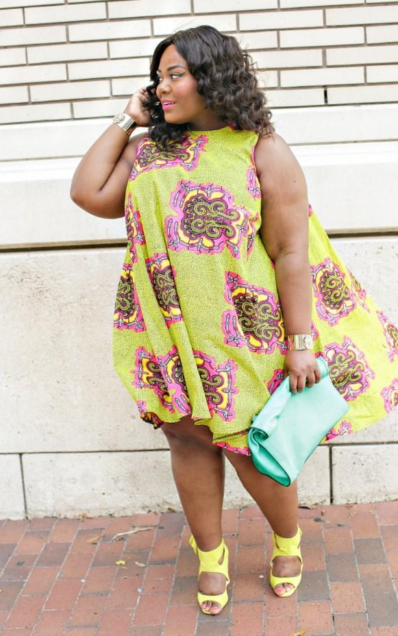 55de3bb8c32 Beautiful Ankara Styles for the Plus size Ladies