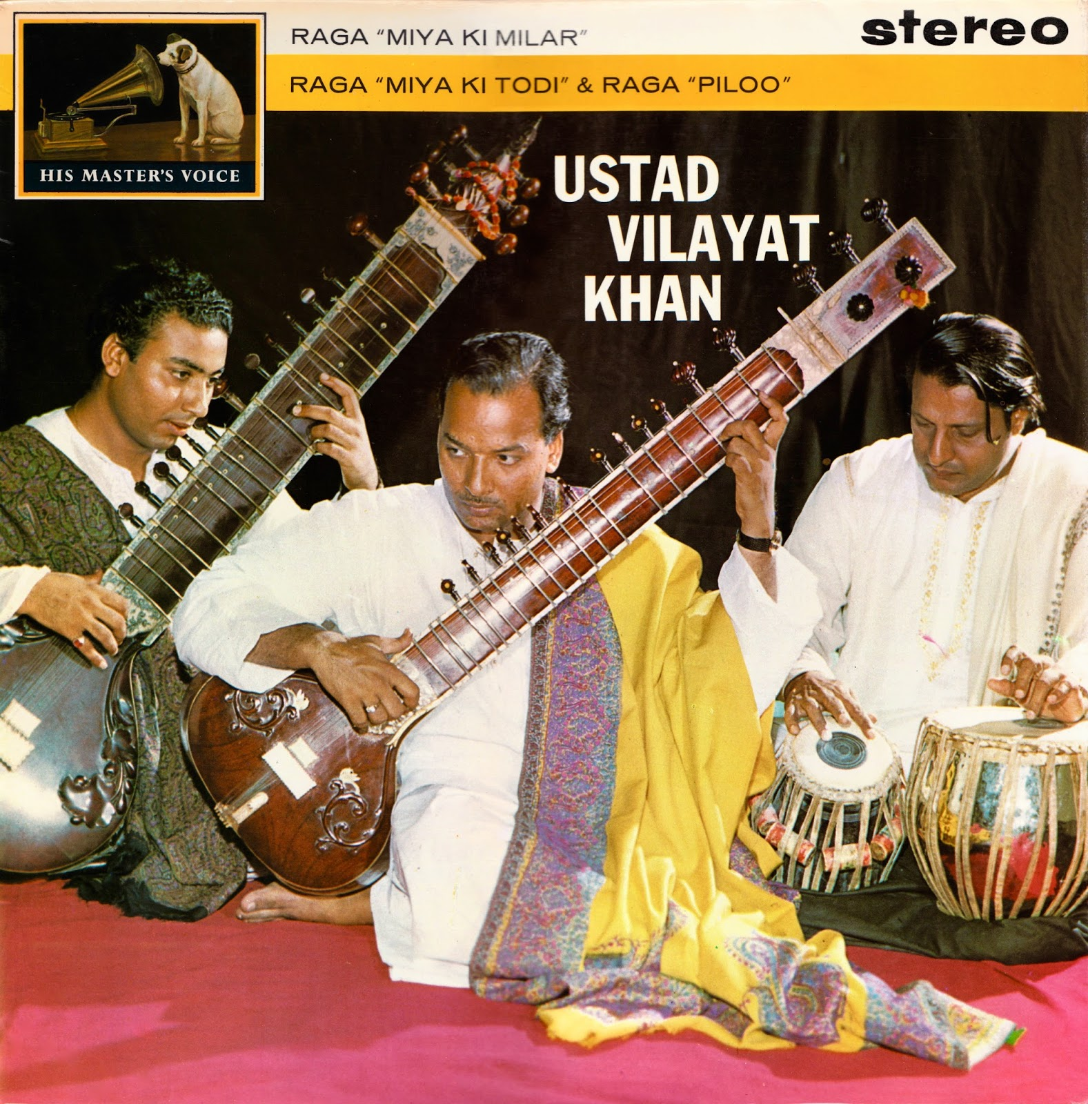 Flat Black And Classical Indian Classical Music On Vinyl And