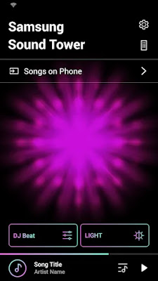 Samsung Sound Tower (Giga Party Audio)