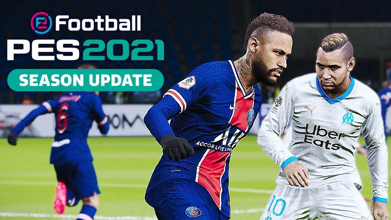 eFootball PES 2021 Neymar Yaması - Lisans Menü Modu Kurulum