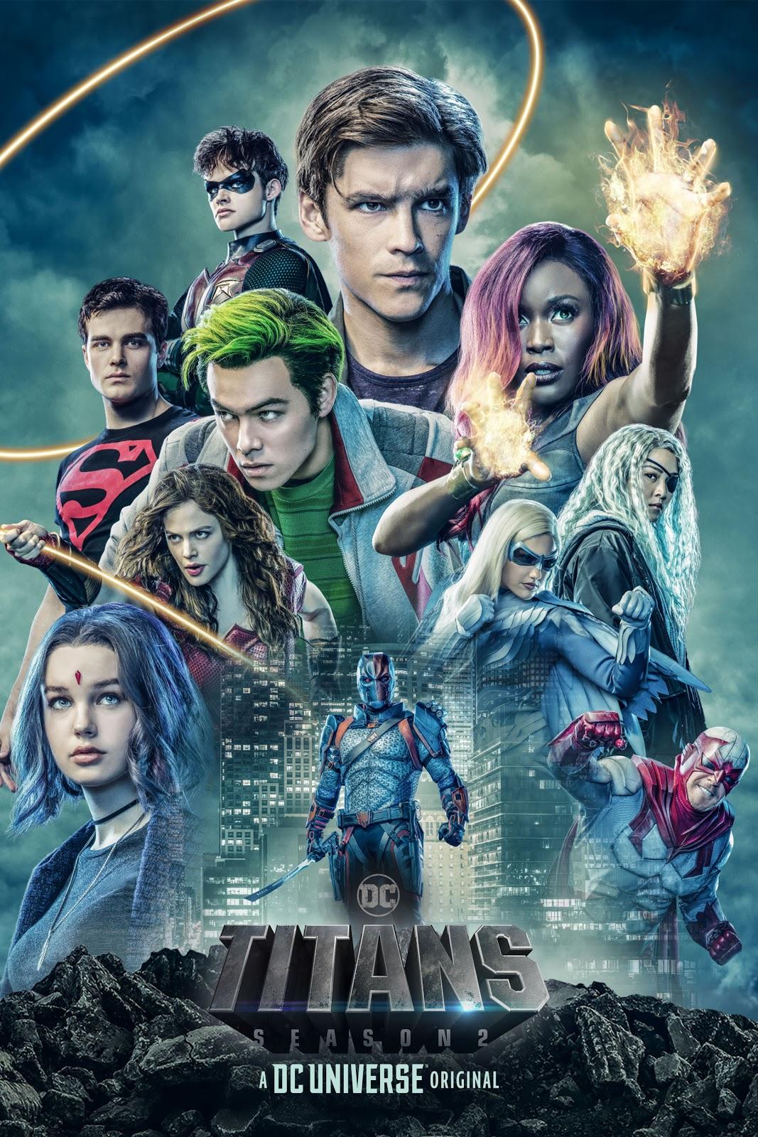 DC Universe Titans season 2 poster