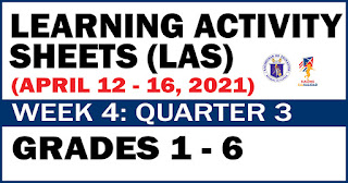 Learning Activity Sheets (LAS) Week 4: Quarter 3