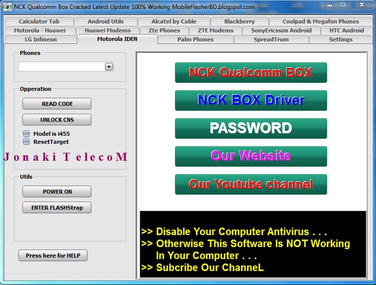 nck crack box download