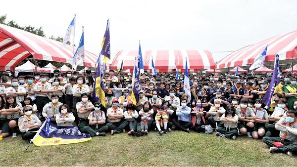 彰化縣慶祝三五童軍節 童軍齊聚溪湖糖廠同歡
