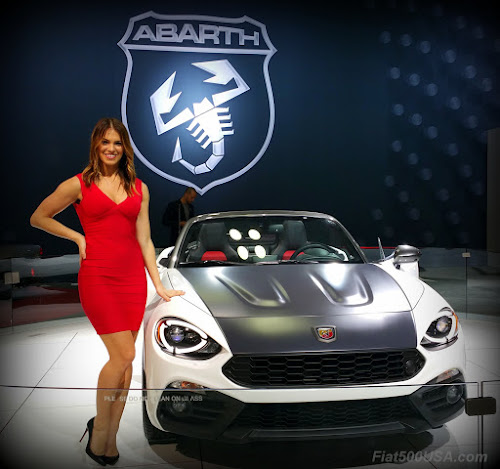 Fiat Abarth Spider and Megan Agrusa